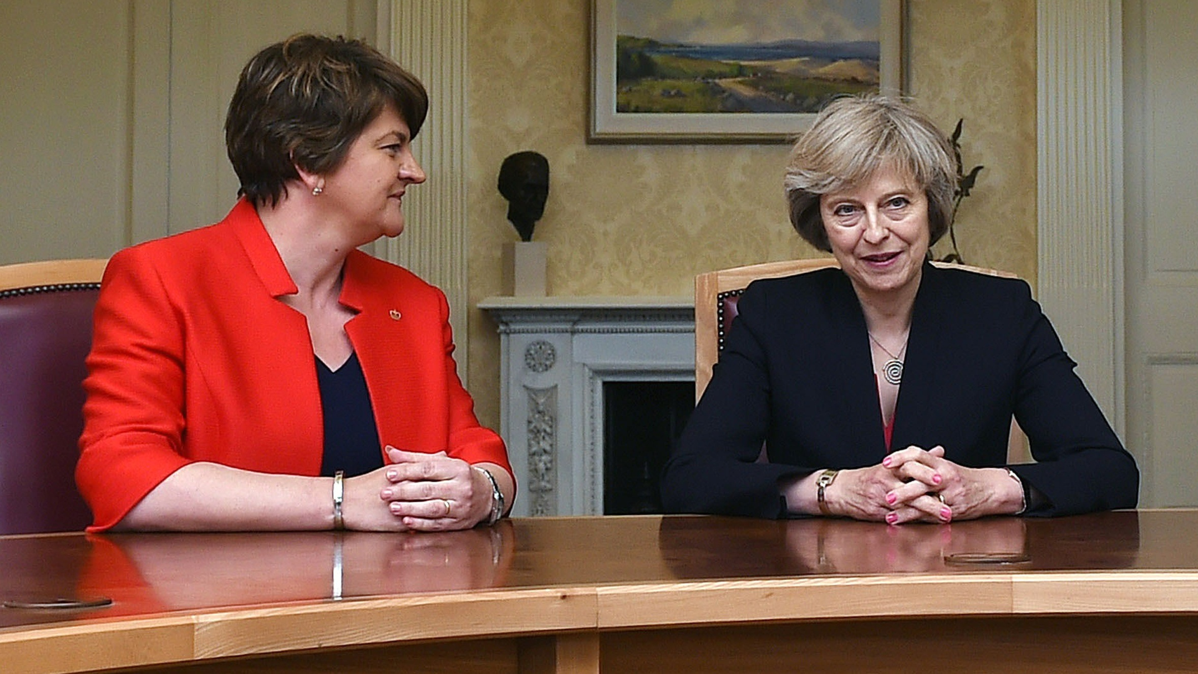 Ireland's first Indian-origin prime minister meets Theresa May